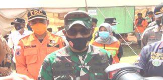 Siagakan Posko Bencana, Kodim Lumajang dan Forkopimda Pantau Perkembangan Semeru