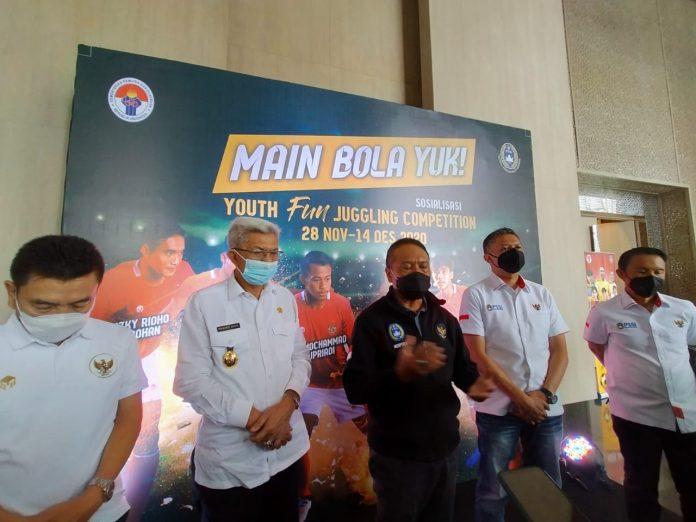 Youth Fun Juggling Competition Semarakan Piala Dunia U-20 di Palembang