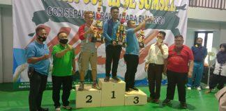 Kumpulkan 17 Medali, Atlet Wushu Raih Juara II Umum Kejurda Bupati Cup III Tahun 2020