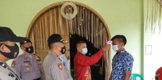 Kapolsek Tapung dan Kasat Sabhara Patroli Amankan Sejumlah Gereja di Wilayah Tapung