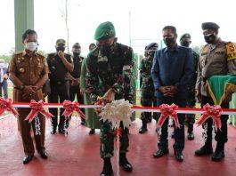 Pangdam II/Sriwijaya Resmikan Satuan Detasemen Zipur 14/Gana Bhadrika Bengkulu