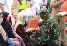 Banjir Tahunan, Bupati dan Dandim Sidak ke Sungai Bengawan Solo