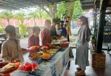 Mantap, Satreskrim Polres Kampar Sediakan Makan Gratis Setiap Jum'at Bagi Warga dan Panti Asuhan Maupun Kaum Dhuafa