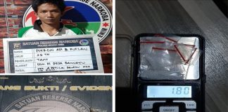 Miliki 7 Paket Sabu, Seorang Petani Diamankan polisi