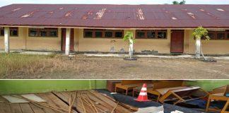 Bangunan Sekolah Memprihatinkan, Guru SDN Muara Pea Ketapang Indah Berharap Ada Perhatian Pemerintah