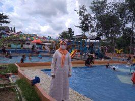 Wahana Bilqis Water Park, Tempatnya Kolam Renang dari Mata Air Bor No Kaporit dan Bisa Swafoto