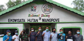 Bupati Resmikan Destinasi Ekowisata Hutan Mangrove, Kades GTS: Semoga Bisa Nambah PAD Desa
