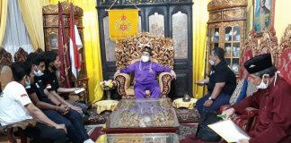 Audensi KBPI Sumsel, Sultan Mahmud Badaruddin IV Sepakat Tonjolkan Tanjak dan Adribut Melayu Palembang Darussalam