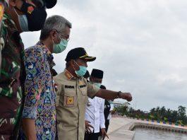 Bupati OKI Resmikan Embung Kayuagung, Pariwasata Berkonsep Konservasi Air