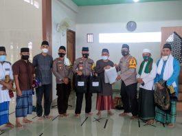 Safari Jum'at Masjid Nur Amanah, Kapolres Pagaralam Ingatkan Warga Untuk Lebih Bijak Tanggapi Isu Berita Hoax di Medsos