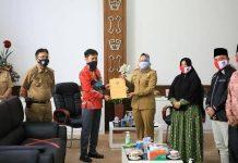 Audiensi, KPU dan UMPTB Siap Bersinergi Dukung 25 Program Kabupaten Tulang Bawang