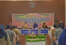 Sambut BPK RI Perwakilan Riau, Catur Desak Pejabatnya Percepat Laporan Keuangan Serta Pertahankan Opini WTP