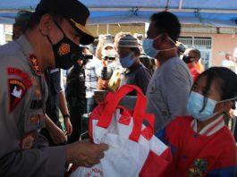 Tak Hanya Beri Bantuan Sosial, Kapolda Sumsel Bersama Pangdam II Sriwijaya Serta Gubernur Sumsel Berikan Motivasi Kepada Korban Kebakaran