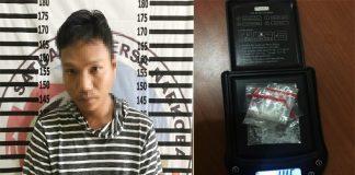 Jadi Bandar Narkoba, Seorang Nelayan di Kampung Kekatung Diringkus Satresnarkoba Polres Tulang Bawang