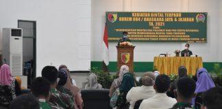 Wujudkan Satuan TNI-AD, Anggota Korem Bhaskara Jaya Diminta Perkuat Mental