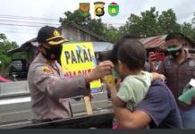Wow, Pedagang dan Pengunjung PTM Prabumulih Kebagian Ribuan Masker dari Ridho Yahya
