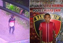 Tergiur Lihat Kunci Motor Tertinggal di Motor Parkiran, Pencuri Tertangkap CCTV Ini Kandas ditangan Tim Rajawali