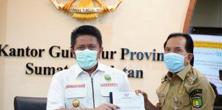 Beri Bangubsus, Gubernur HD Persilakan Walikota Prabumulih Untuk Singkronisasikan Program