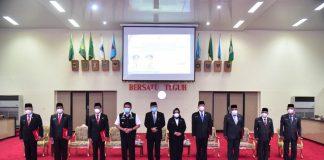 Tak Ingin Kekosongan Tampuk Pemerintahan, Gubernur HD Tunjuk 7 Plh Bupati