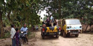 Keluarga Tak Mampu Sewa Mobil Jenazah, Anggota Polsek Talang Kelapa Bawa Bocah Tewas Tenggelam Pulang ke Banyuasin Pakai Mobil Patroli