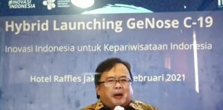 """Efektif Deteksi Covid-19, GeNose C-19 """"Jalan"""" Kebangkitan Pariwisata Indonesia"""