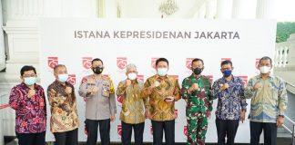 HD Hadiri Rakornas Karhutla Di Istana Negara, Jokowi Tekankan Pejabat Apabila Terdapat Karhutla Besar dan Tidak Tertangani Maka di Copot