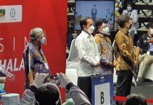 5.512 Insan Pers Lakukan Vaksinasi Covid-19 Tahap Pertama, Ini Kata Presiden Jokowi