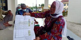 Kesal, Sertifikat Tanah Tak Kunjung Terbit, Warga Desa Sinar Harapan Mulya Datangi Polres OKI