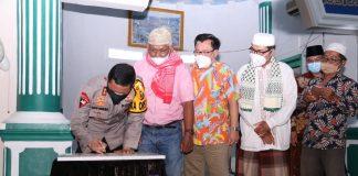 Resmikan Masjid Albusro Desa Gasing, Kapolda Sumsel Minta Diisi Majelis Taklim dan Pengajian TK/TPA