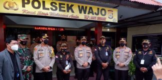 Sempat Viral, LSM Pelanggar Prokes di Larang Masuk Kantor BRI Sentral Makassar, Satpam Ini Terima Penghargaan dari Polri