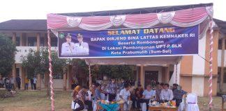 Wujudkan Tenaga Kerja Siap Pakai, Prabumulih Perwakilan Provinsi Sumsel Bakal Dibangunkan BLK oleh Kemennaker RI