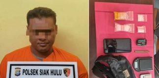Simpan 1 Paket Sedang Sabu di Dalam Lemari Baju, Pengedar Ini Diseret Polisi ke Sel