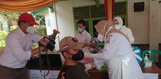 Pantau 187 Pegawai Pol PP di Vaksin, Finda Beri Kekuatan Masyarakat Jangan Takut Vaksin dan Pastikan Gratis