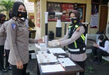 19 Polwan Bintara dan Perwira Polres Prabumulih di Tes Urine Dadakan, Berikut Hasilnya