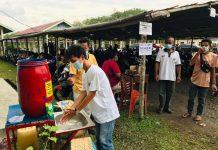 Cari Bibit Atlet dan Tingkatkan Ekonomi, Desa Tambangan Kelekar Gelar Turnamen Bola Kades Cup 2 Prokes Ketat