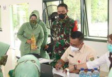 Hindari Terjadi Penumpukan, Kodim 0429 Siasati 80 Personel Suntik Vaksinasi Dibagi 4 Gelombang