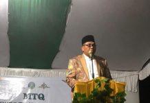 Buka MTQ ke XXXVI Tk.Kecamatan, Bupati Berpesan Apabila Cinta Islam Pahami Kandungan Al-quran