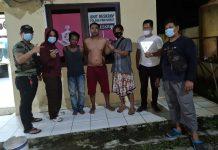Bawa Senpi Rakitan, Tim Opsnal Polsek Prabumulih Barat Garuk 2 Penumpang Bus Marlin