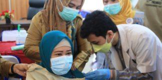 Pemkab OKI Vaksinasi 7.469 ASN untuk Tingkatkan Layanan Publik