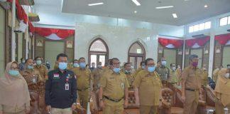 Tim Pemeriksa BPK RI Perwakilan Provinsi Riau Sambangi Pemkab Kampar, Sekda Kampar Ingatkan Kepala OPD Tidak Ada Keluar Kota