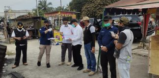Pasca Kebakaran Pasar SP 1 Kijang Jaya, Kapolres Kampar Sampaikan Hasil Pemeriksaan Tim Labfor