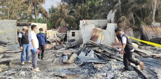 Hanguskan Puluhan Ruko dan Merenggut 2 Nyawa Warga, Bupati Kampar Gerak Cepat Tangani Kebakaran Pasar Desa Kijang Jaya
