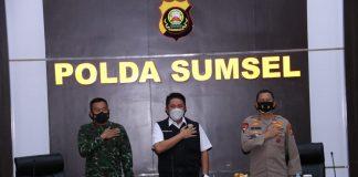 Kapolda Sumsel dan Pangdam Bersama Gubernur Sumsel Simak Virtual Launching Etle Nasional Tahap 1, 12 Polda Terapkan Tilang Elektronik