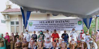 Reses Tahap I DPRD Sumsel Dapil VI, Sukarno Berharap Asprirasi Masyarakat Kecamatan Prabumulih Selatan Dapat di Realisasikan