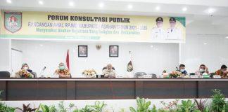 Buka Forum Konsultasi Publik Rancangan Awal RPJMD Kab. Asahan 2021-2026, Bupati: RPJMD Sedang Kita Susun Wujudkan Visi dan Misi