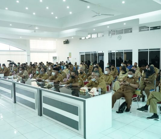 SPPT dan DHKP PBB-P2 2021, Bupati Minta Para Camat Kades/Lurah Distribusikan ke Wajib Pajak Serta Terapkan Akuntabilitas Transparansi