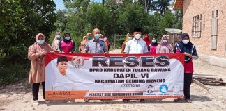 Reses Dapil VI di Kampung Bakung Rahayu, DPRD Gerindra Janji Sampaikan Aspirasi Masyarakat ke Pemerintah Daerah