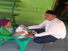 Sambut Ramadhan 1442 H, Ketua DPC GPND Kec. Biru-Biru: Tingkatkan Iman dan Taqwa dengan Berbagi Sembako