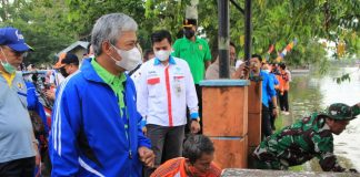 Canangkan Gerakan Peduli Sungai Komering, Bupati OKI Ajak Masyarakat Peduli Lingkungan