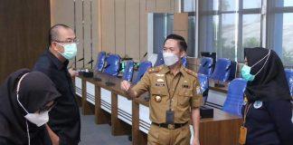 Acara HUT PDAM Tirta Musi Palembang ke-45 Mendadak Berubah Tegang, Usai Didatangi Ratu Dewa Bersama Petugas BNNP Sumsel